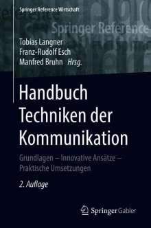 Handbuch Techniken der Kommunikation, Buch