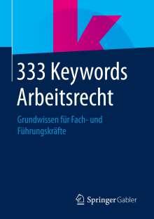333 Keywords Arbeitsrecht Buch Jpc