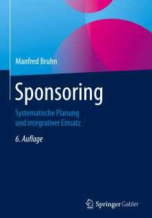 Manfred Bruhn: Sponsoring, Buch
