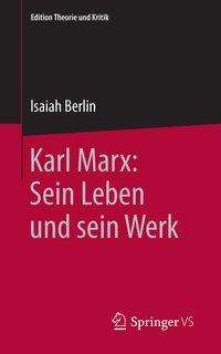 Isaiah Berlin: Karl Marx: Sein Leben und sein Werk, Buch