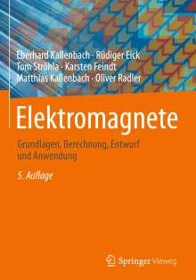 Eberhard Kallenbach: Elektromagnete, Buch