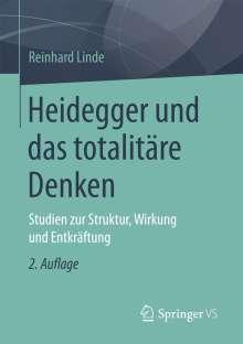Reinhard Linde: Heidegger und das totalitäre Denken, Buch