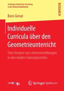 Boris Girnat: Individuelle Curricula über den Geometrieunterricht, Buch