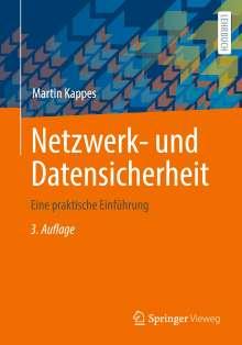 Martin Kappes: Netzwerk- und Datensicherheit, Buch