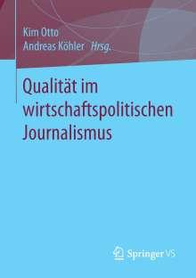 Qualität im wirtschaftspolitischen Journalismus, Buch