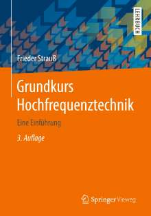 Frieder Strauß: Grundkurs Hochfrequenztechnik, Buch