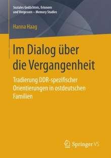 Hanna Haag: Im Dialog über die Vergangenheit, Buch