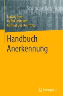 Handbuch Anerkennung, Buch