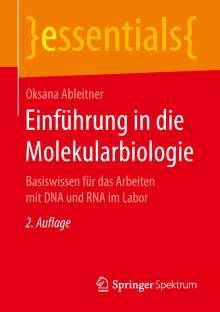 Oksana Ableitner: Einführung in die Molekularbiologie, Buch