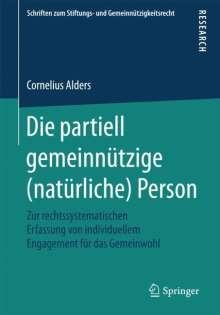 Cornelius Alders: Die partiell gemeinnützige (natürliche) Person, Buch