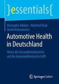 Mustapha Addam: Automotive Health in Deutschland, Buch