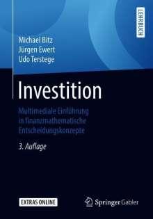 Michael Bitz: Investition, Buch