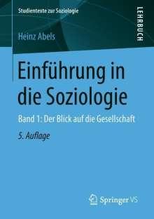 Heinz Abels: Einführung in die Soziologie, Buch