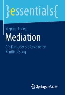 Stephan Proksch: Mediation, Buch
