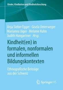 Kindheit(en) in formalen, nonformalen und informellen Bildungskontexten, Buch