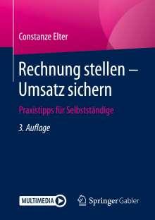 Constanze Elter: Rechnung stellen - Umsatz sichern, Buch