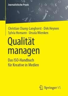 Christian Chang-Langhorst: Qualität managen, Buch