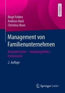Birgit Felden: Management von Familienunternehmen, Buch