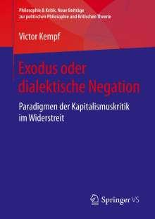 Victor Kempf: Exodus oder dialektische Negation, Buch
