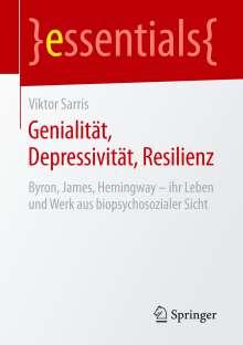 Viktor Sarris: Genialität, Depressivität, Resilienz, Buch