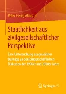 Peter-Georg Albrecht: Staatlichkeit aus zivilgesellschaftlicher Perspektive, Buch