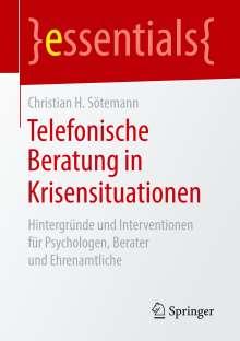 Christian H. Sötemann: Telefonische Beratung in Krisensituationen, Buch
