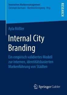 Ayla Rößler: Internal City Branding, Buch