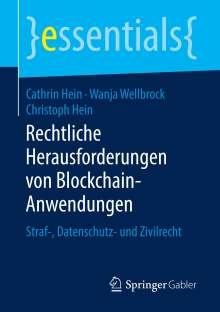Cathrin Hein: Rechtliche Herausforderungen von Blockchain-Anwendungen, Buch