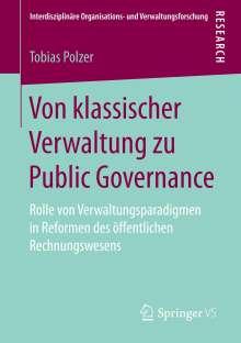 Tobias Polzer: Von klassischer Verwaltung zu Public Governance, Buch