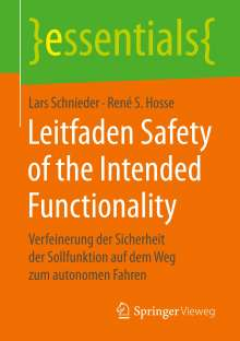 Lars Schnieder: Leitfaden Safety of the Intended Functionality, Buch