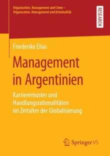 Friederike Elias: Management in Argentinien, Buch