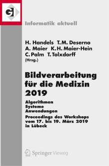 Bildverarbeitung für die Medizin 2019, Buch