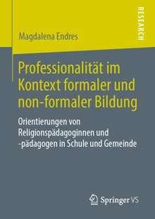 Magdalena Endres: Professionalität im Kontext formaler und non-formaler Bildung, Buch