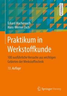 Eckard Macherauch: Praktikum in Werkstoffkunde, Buch