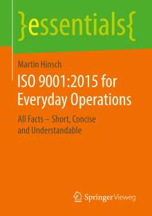 Martin Hinsch: ISO 9001:2015 for Everyday Operations, Buch