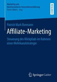 Patrick Mark Bormann: Affiliate-Marketing, Buch