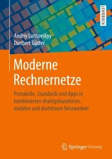 Dietbert Gütter: Moderne Rechnernetze, Buch