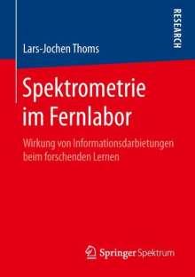 Lars-Jochen Thoms: Spektrometrie im Fernlabor, Buch