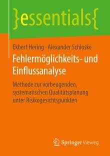 Ekbert Hering: Fehlermöglichkeits- und Einflussanalyse, Buch