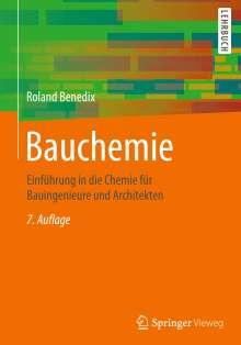 Roland Benedix: Bauchemie, Buch