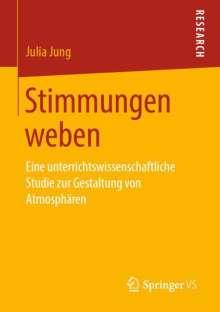 Julia Jung: Stimmungen weben, Buch