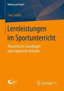 Sara Seiler: Lernleistungen im Sportunterricht, Buch
