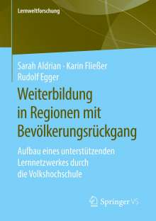 Sarah Aldrian: Weiterbildung in Regionen mit Bevölkerungsrückgang, Buch