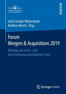 Forum Mergers & Acquisitions 2019, Buch
