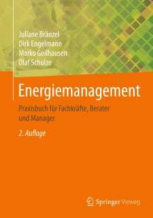 Juliane Bränzel: Energiemanagement, Buch