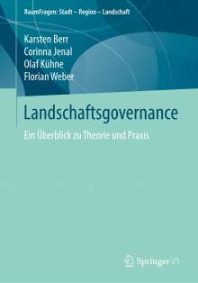Karsten Berr: Landschaftsgovernance, Buch