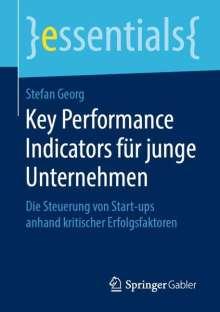 Stefan Georg: Key Performance Indicators für junge Unternehmen, Buch