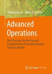Oliver D. Doleski: Advanced Operations, Buch