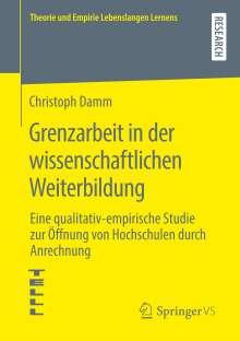 Christoph Damm: Grenzarbeit in der wissenschaftlichen Weiterbildung, Buch