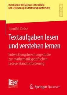 Jennifer Dröse: Textaufgaben lesen und verstehen lernen, Buch